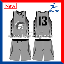 powerful high wicking sublimation basketball clothing