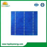 manufacturing companies of cheap stock poly 6*6 3BB 4.1w-4.2w Solar cell price for sale
