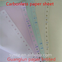 best selling computer paper Quality Carbonless Paper NCR Paper continuous forms printing