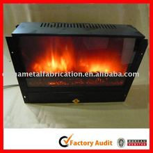 cold rolled steel wall mounted electric fireplace