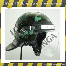police and military protective anti riot helmet