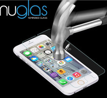 Nuglas Tempered Glass Screen Protector for iPhone 6, Best Quality With Factory Price , MOQ50pcs with paypal