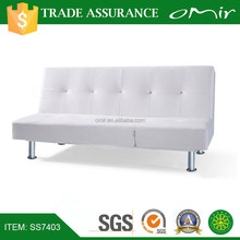 modern antique leisure leather sofa bed SS7403
