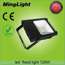 outdoor 120w led flood light with 5 years warranty and Meanwell driver