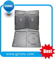 Wholesale Cheap Plastic 7MM Double Sided DVD Case, 7MM Locking DVD Case