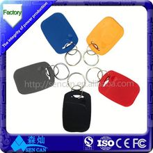 2015 Popular LF/HF uhf ABS rfid key tag/fob from alibaba gold supplier