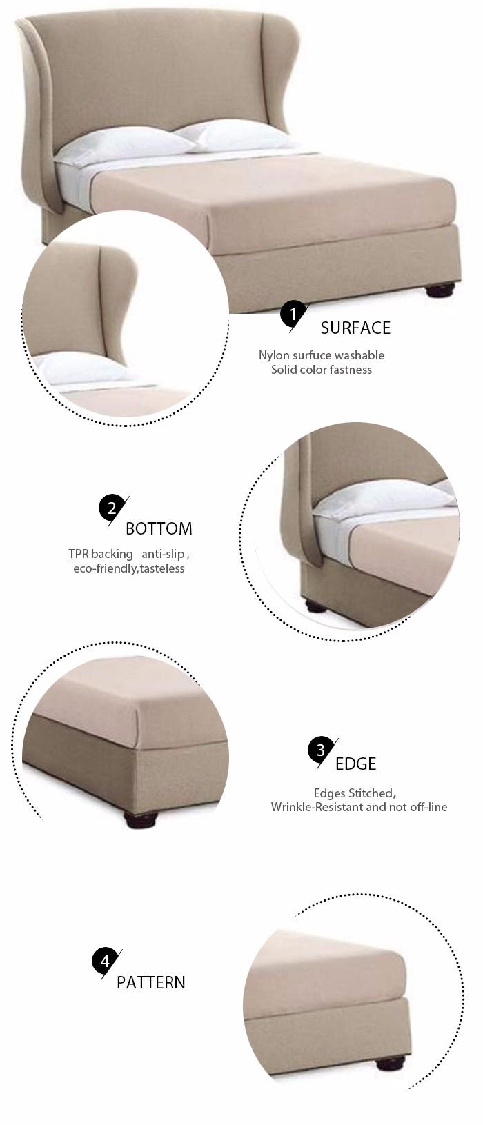 Laatste comfortabele houten zacht bed ontwerpen bedden product id ...
