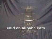 3-Tier Acrylic Counter Top Display Stand