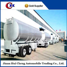 Construction machinery fuel tanker semi trailer truck trailer with chassis