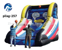 2014 commercial inflatable bouncer inflatable basket ball,