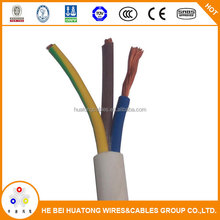 factory price 3 Core CCA conductor RVV Electric Cable 1.5mm