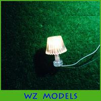 1;25unilluminated transparent plastic delicate light/delicate unilluminated table light