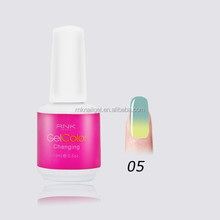 beauty holidays color RNK color changing gel polish manicure supplies nail changing color gel cheap and professional nail art