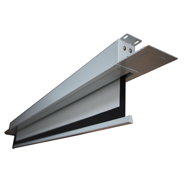 high quality ceiling mount pvc material motorized tab On motorized projector screen ceiling mount