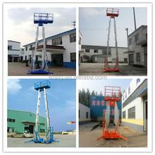 telescopic lift and hydraulic lift drive/aluminium lift
