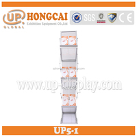Advertising Show Aluminum Alloy Book Display Stand