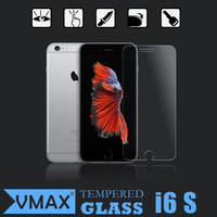 9h 2.5D Mobile phone HD clear tempered glass screen protector for iphone 6s / 6 s plus