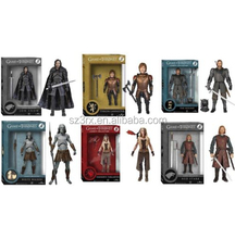 Game Of Thrones vinyl Action Figures,mini cartoon urban vinyl figures, roto casting vinyl dolls