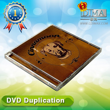 china wholesale new release dvd duplication for movie