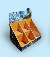 Custom Cardboard Cutout Counter Display Unit