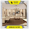 fashion jewelry shop interior design, showcase shelves for jewelry shop fixtures