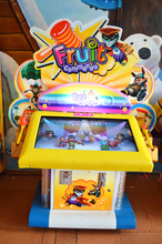 J36 2015 haimao new fun park manufacture Fruit Attack hit hammer children play indoor amusement screen touch game