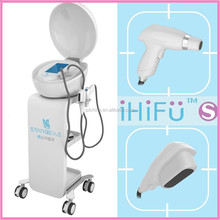 Guangzhou Manufacturers portable wrinkle remove skin rejuvenation hifu with medical ce