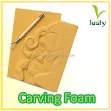 Carving foam board