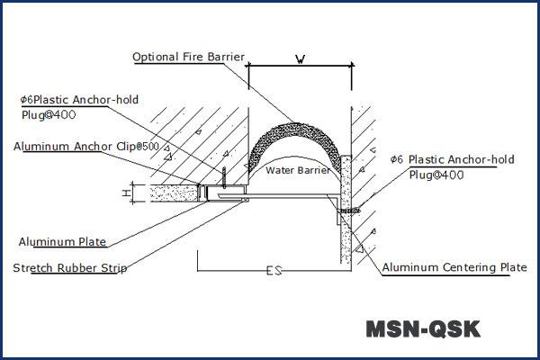 Dehnungsfuge Beton schloss metall außenwand dehnungsfuge im beton metallische