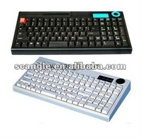 POS Black/White Programmable Keyboard with USB