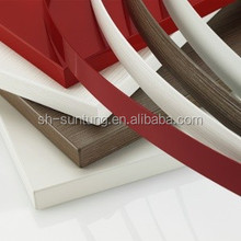 red color plastic furniture accessories edge bands