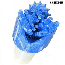 Water well drilling 7-5/8 inch 193.7mm steel tooth rock bit/steel tooth bit/steel tooth tricone bit API standard
