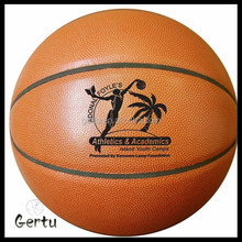 promotional size 5 pvc leather basketball ball