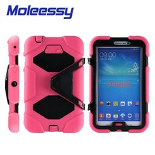 Hibird military useful 7 inch tablet Pc Case for Samsung P3200