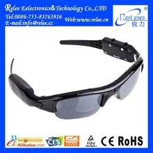 Remote control world smallest hidden digital video sunglasses camera