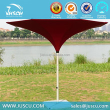 Juscu 3.0m Resort Beach Parasol with Red color for Outdoor used 1010
