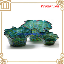 2015 Hot Sale! Popular Cheap Fine Promotion Glass Fruit tray /glass fruit plate /glass dish