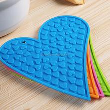 Facny decorative clear silicone mat,silicone hot pad,silicone rubber anti-slip pad