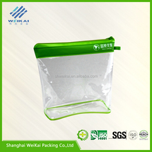 pvc cosmetic bag, bling frosted PVC promotional cosmetic bag WK0320