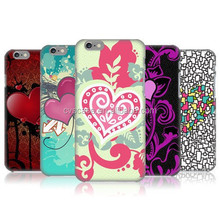 Mobile Phone Case With DIY Peach Hearts Cell phone Accessories For Iphone Case 6