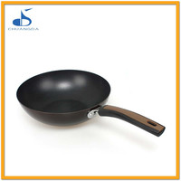 cast iron cookware CE LFGB approved round cupcake nonstick pan