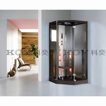 KOY Sauna,Steam shower room, steam room,steam house, steam shower cabin with infrared sauna K073(with CE,TUV,EMC)