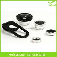 180 degree fisheye lens zoom lens macro lens for smartphone