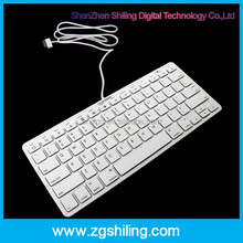 Perfect 30 pin wired keyboard for iphone4/4s & for ipad2/3/4