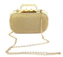 Women party bags trendy fashion rhinestone evening bags