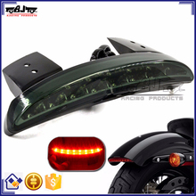 BJ-LPL-032 Rear Fender Edge LED Tail Light For Harley Davidson XL883L XL883N Iron XL1200V