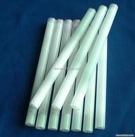Milky/clear/ruby/yellow quartz flash tube for heating/testing