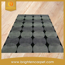 Commercial hand knotted hotel wool carpet