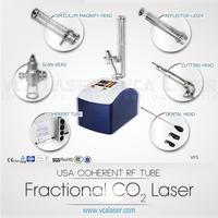 glass tube/rf tube co2 beauty equipment acne removal