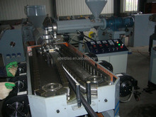 single wall corrugated pipe making machine, pvc corrugated conduit pipe production line